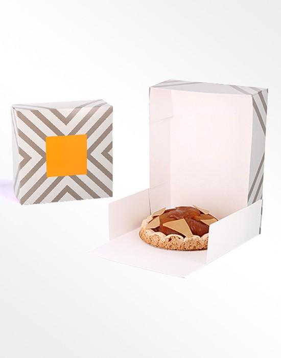 Boîte pâtissière Contraste