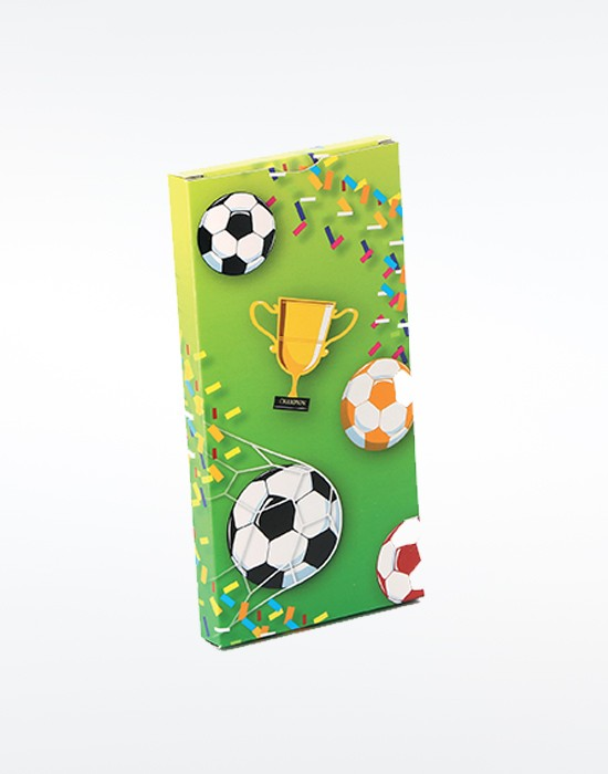 Etui tablette chocolat Football