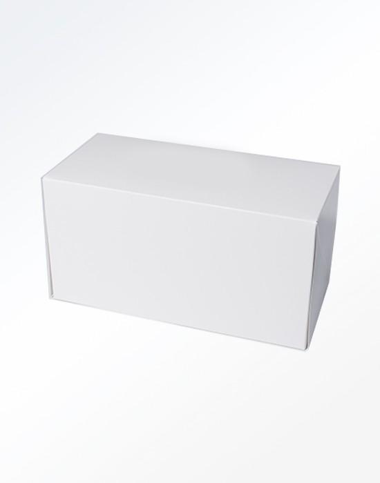 Boîte bûche blanche