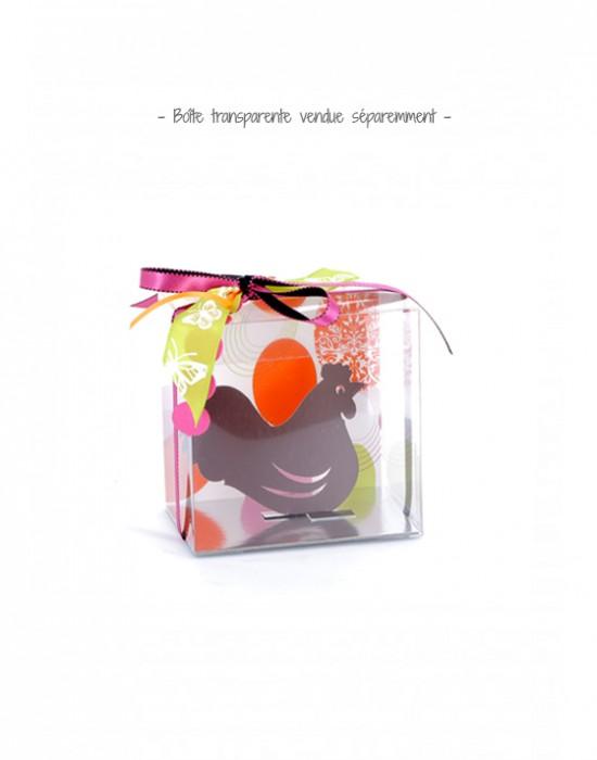 Fronton Oeuf en folie pour boîte transparente pour moulage chocolat