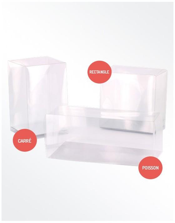 Boîte transparente