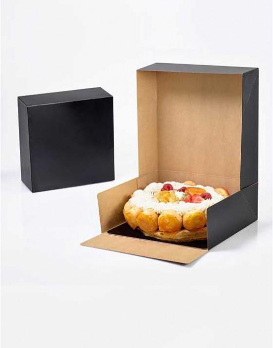 Boîte pâtissière Noir