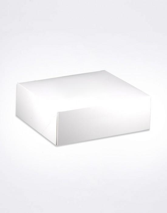 Boîte pâtissière Blanche