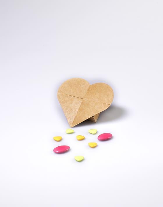 Mini boîte coeur