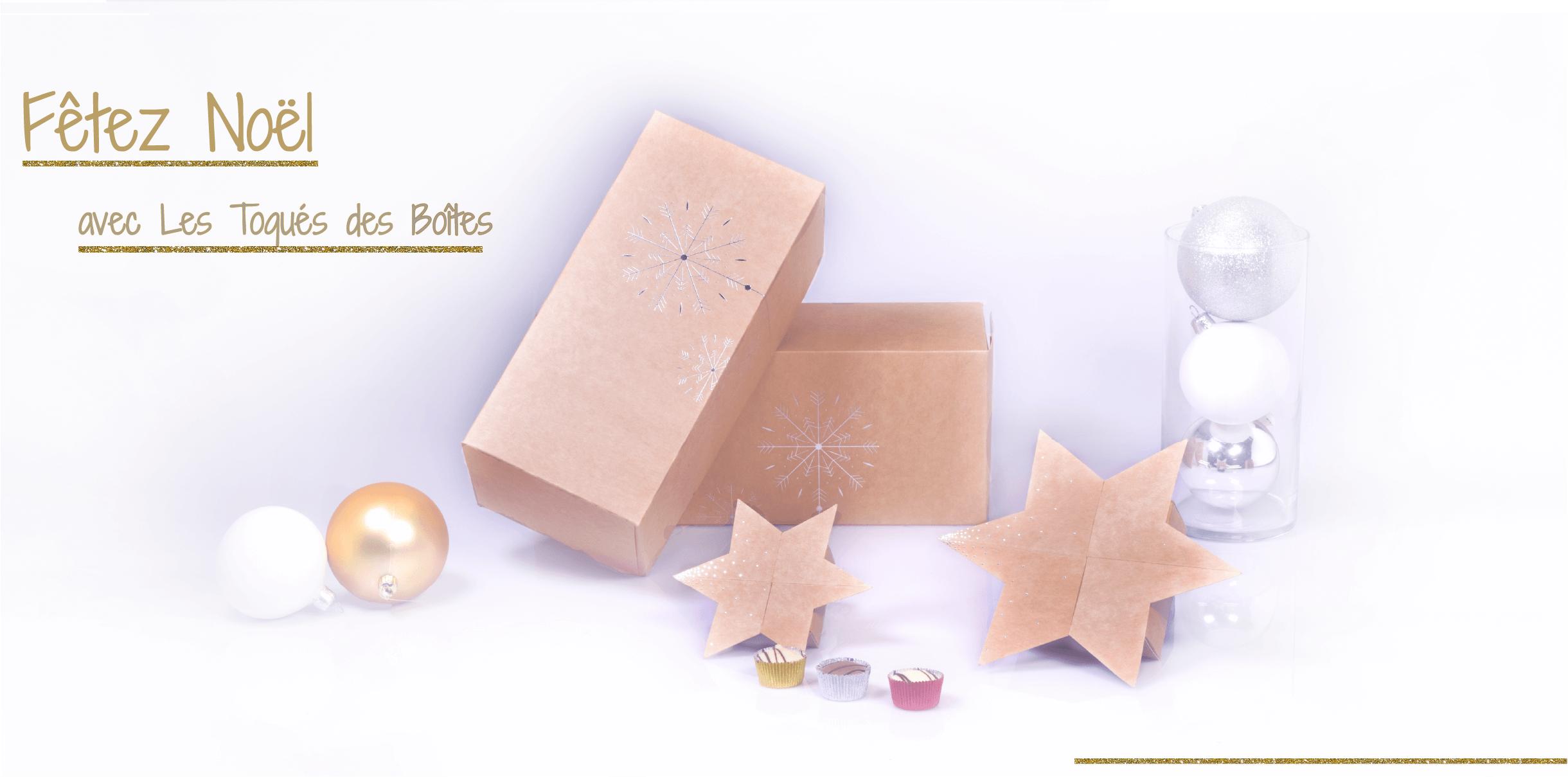 Fêtez Noël avec Les Toqués des Boîtes