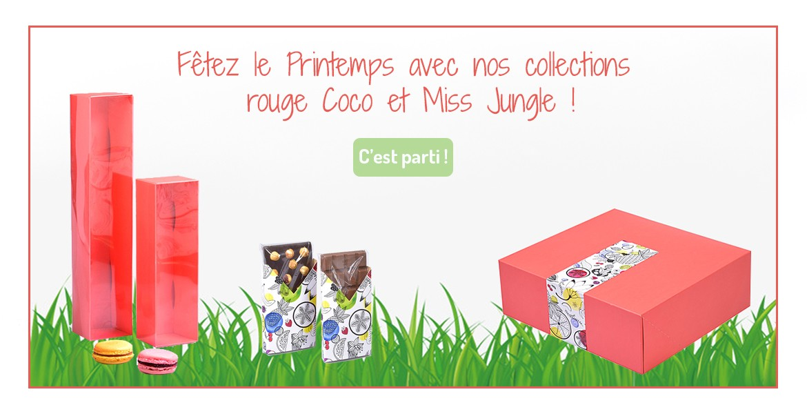 Collection Coco Printemps Rouge