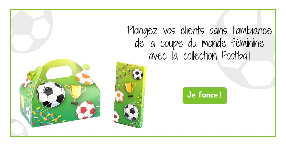 Emballage alimentaire Football